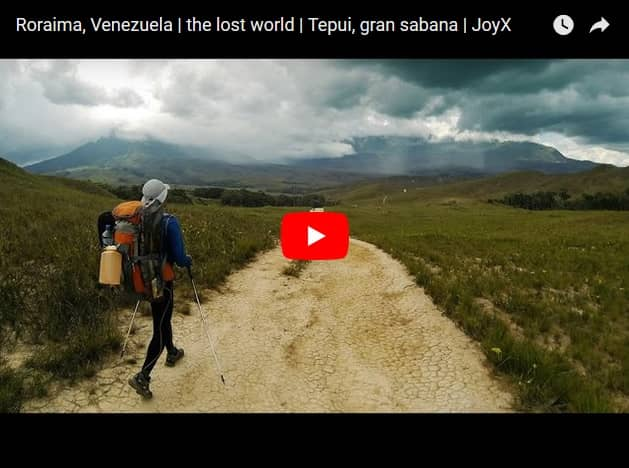 video Roraima Trekking Venezuela